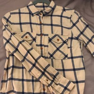 J Crew Flannel Button Up